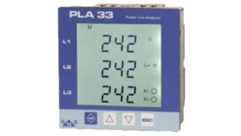 PLA33 Enerji Analizörü